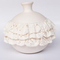 TERPSICHORE wazon porcelana