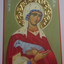 ŚW. AGNIESZKA ikona