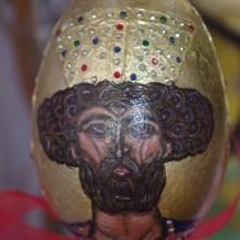 ŚW. DAWID ikona na jajku