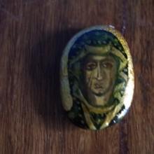 MATKA BOSKA CZĘSTOCHOWSKA ikona na kamieniu