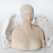 ANIELA rzeźba kobiety anioła