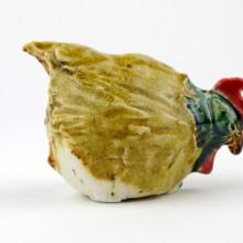 ZIELONOPIÓRKA kurka ceramiczna