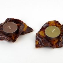 LISTKI - tealighty ceramiczne