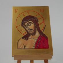 CHRYSTUS W KORONIE CIERNIOWEJ ikona